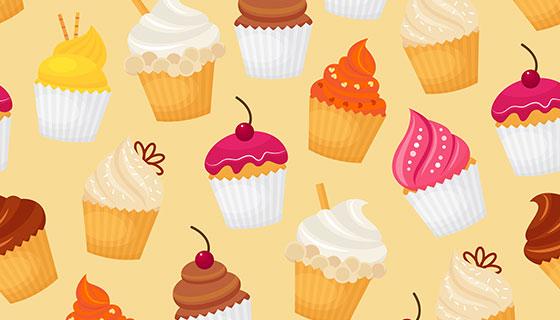 美味甜点蛋糕矢量素材(EPS)