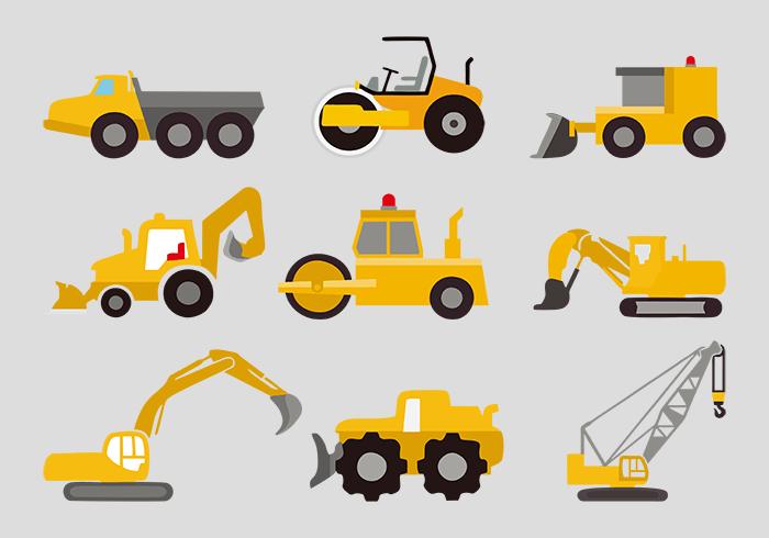 各种各样的工具车矢量素材(EPS/SVG)