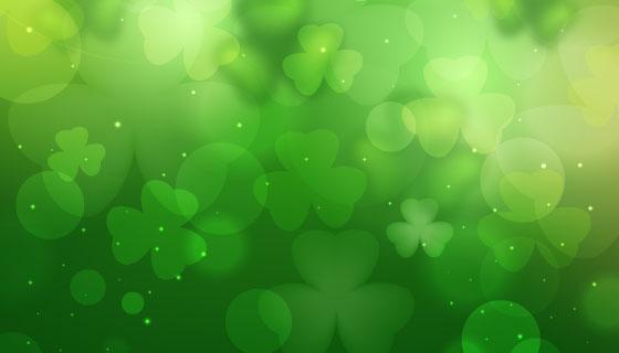 绿色清爽的春天背景矢量素材(AI/EPS)