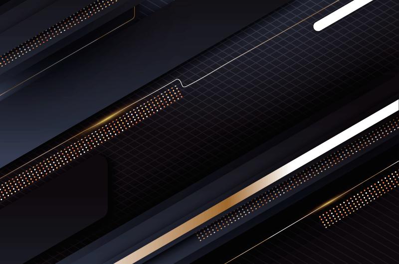 优雅大气金色点缀背景矢量素材(AI/EPS)
