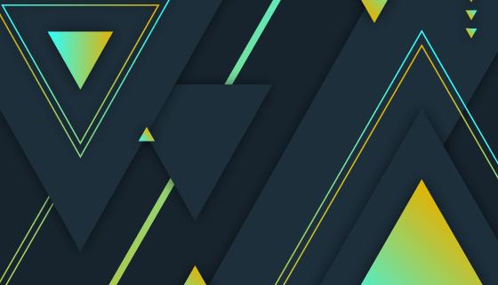 渐变几何图形背景矢量素材(AI/EPS)
