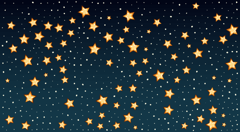 星星背景矢量素材(EPS)