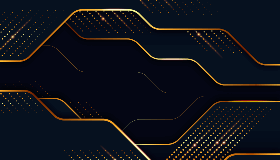 优雅的金色商务背景矢量素材(AI/EPS)