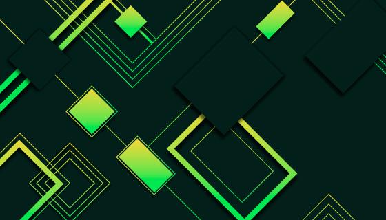 抽象渐变几何图形背景矢量素材(AI/EPS)