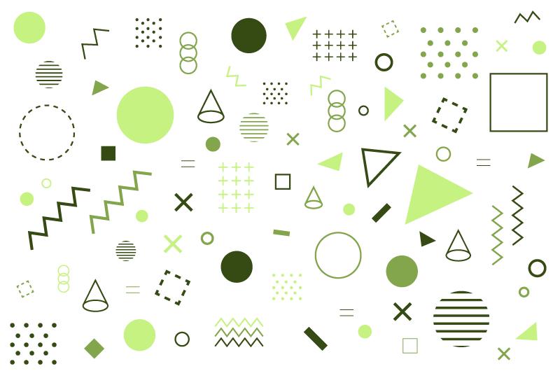 几何形状孟菲斯风格背景矢量素材(AI/EPS/免扣PNG)