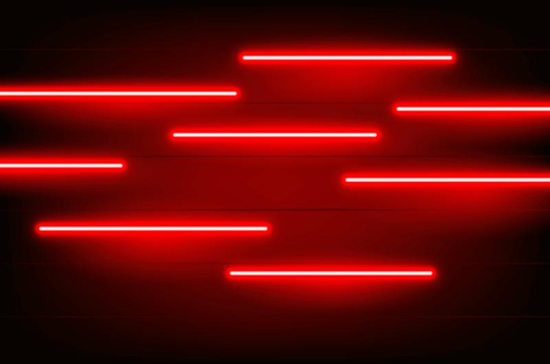 创意红色霓虹灯背景矢量素材(AI/EPS)
