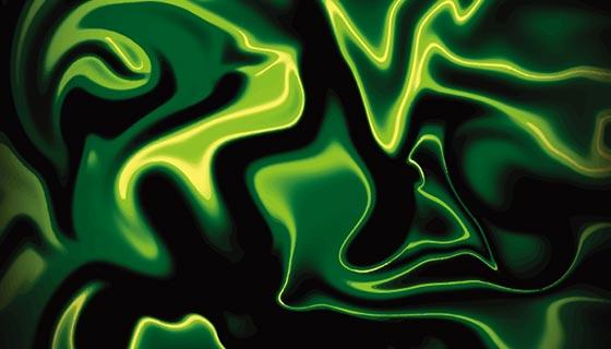 闪耀的绿色背景矢量素材(EPS)