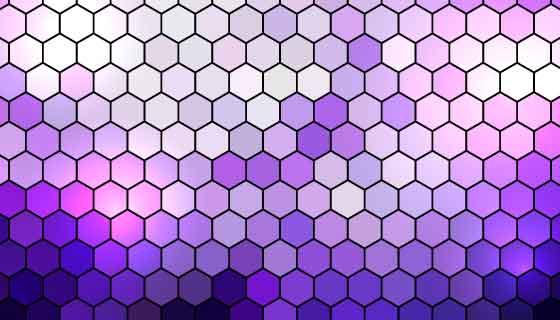 六边形渐变抽象背景矢量素材(EPS)