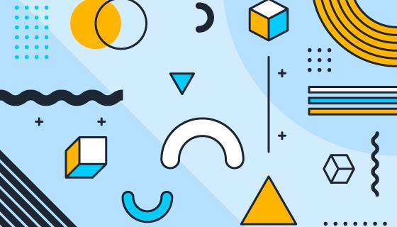 抽象几何图案背景矢量素材(AI/EPS)