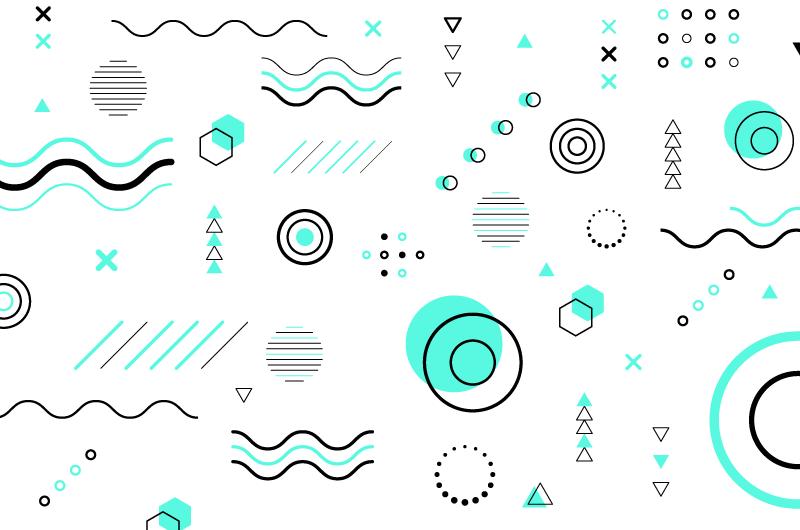 抽象几何图形背景矢量素材(AI/EPS/免扣PNG)