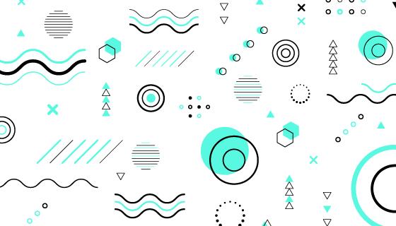 抽象几何图形背景矢量素材(AI/EPS/PNG)