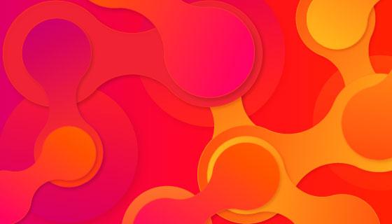 抽象多彩背景矢量素材(AI/EPS)
