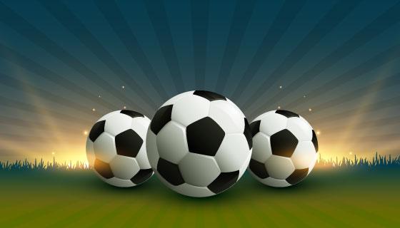 足球联赛背景矢量素材(EPS)