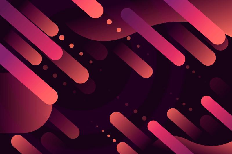抽象风格多彩背景矢量素材(AI/EPS)