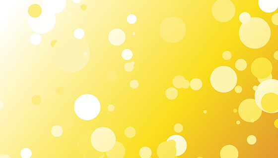 圆点黄色背景矢量素材(EPS)