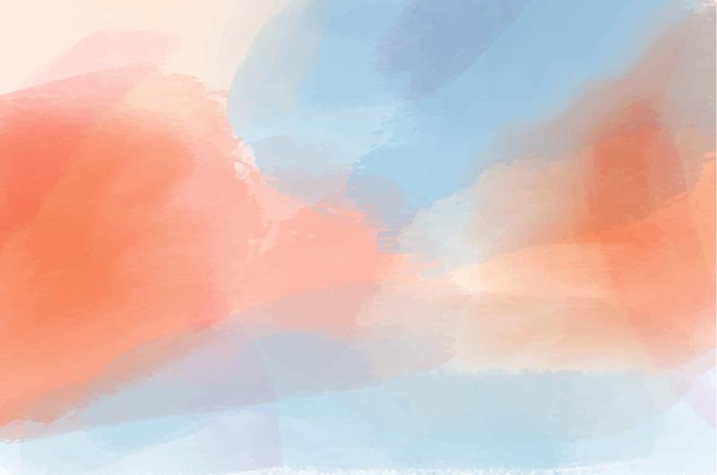 浅色水彩背景矢量素材(AI/EPS)