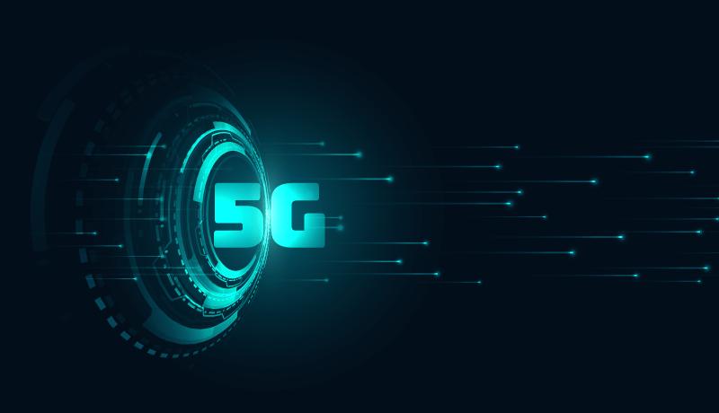 5G网络科技背景矢量素材(EPS)