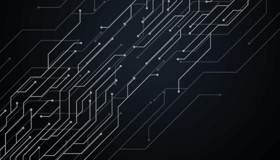 抽象线路设计科技背景矢量素材(EPS)