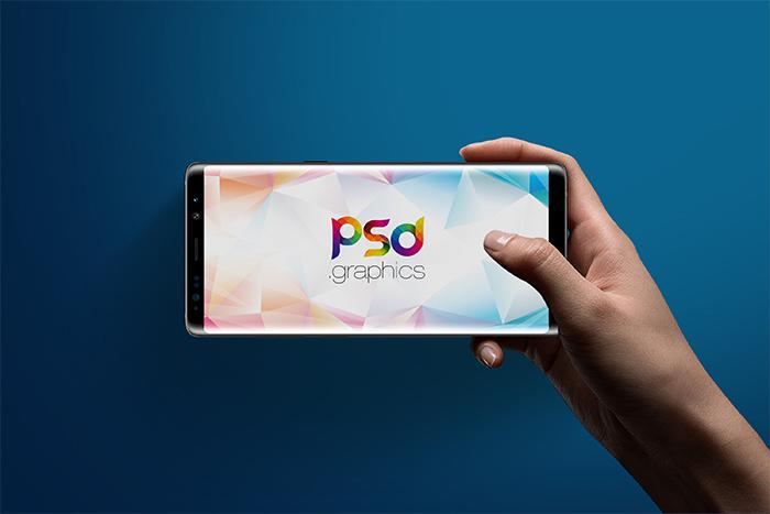 三星Galaxy Note 8模型(PSD)