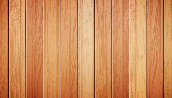 逼真的木质背景矢量素材(EPS)