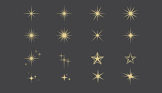 星星元素矢量素材(EPS/AI)
