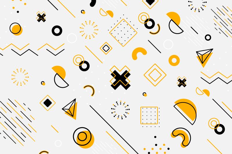 几何图案壁纸/背景矢量素材(AI/EPS/免扣PNG)