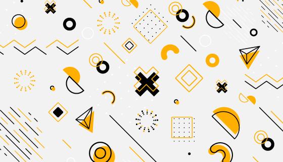 几何图案壁纸/背景矢量素材(AI/EPS/PNG)