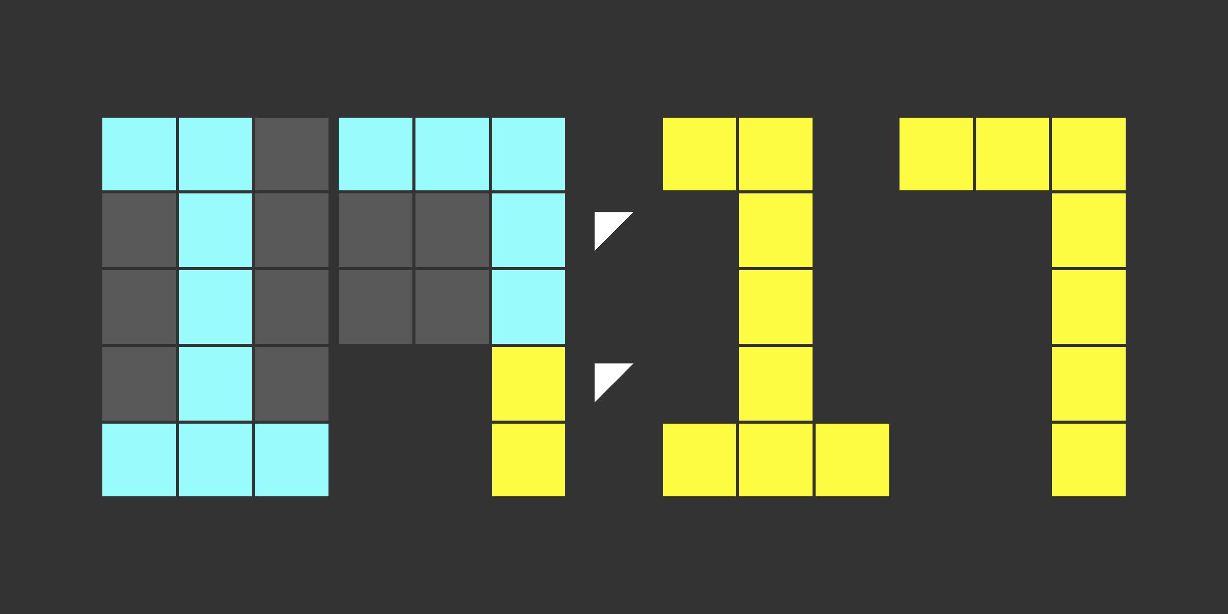 创意小方块时钟(AI/EPS)
