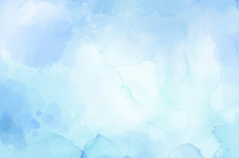 浅蓝色水彩背景矢量素材(AI/EPS)