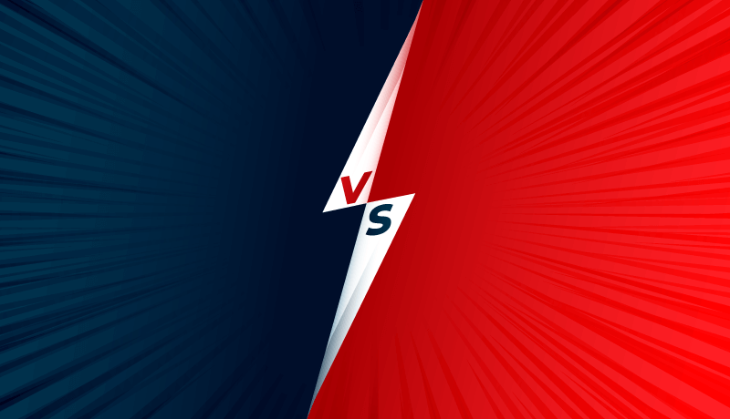 双方对抗VS屏幕背景矢量素材(EPS)