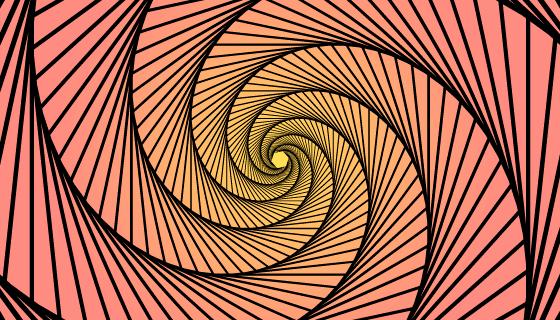 迷幻的错觉背景矢量素材(AI/EPS)