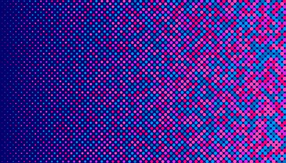 抽象半色调背景矢量素材(AI/EPS)