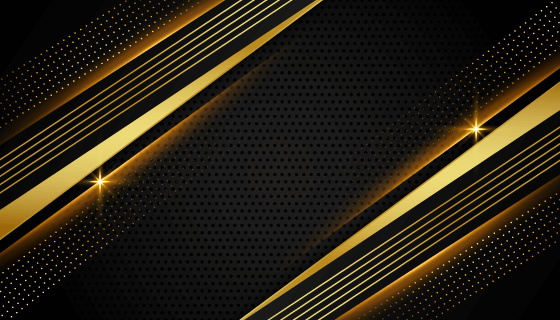 抽象黑金色背景矢量素材(EPS)