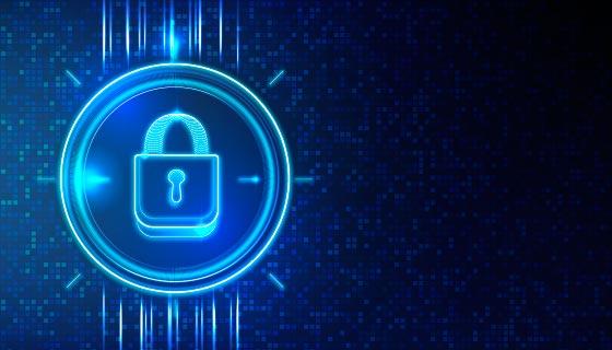 网络安全科技背景矢量素材(AI/EPS)
