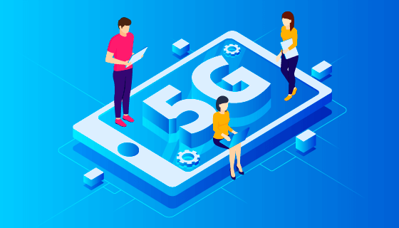 5G网络概念设计矢量素材(AI/EPS)