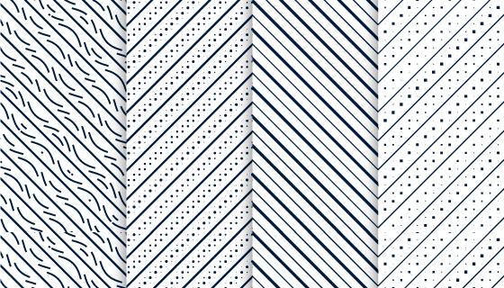简约黑白对角线背景矢量素材(EPS)