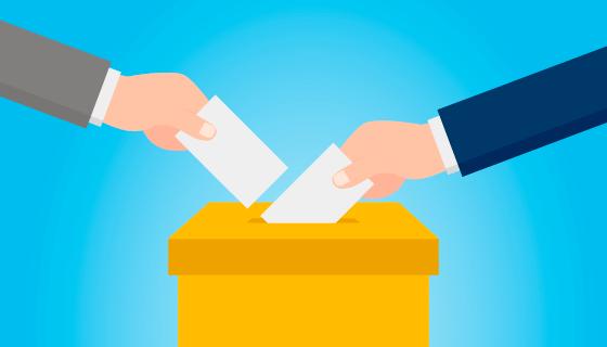 民众自由投票矢量素材(AI/EPS)