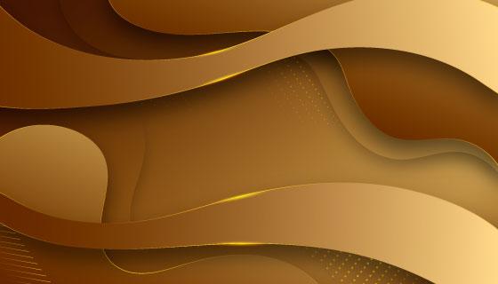 金色奢华背景矢量素材(AI/EPS)