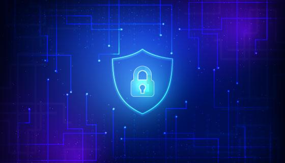 网络安全抽象设计矢量素材(AI/EPS)