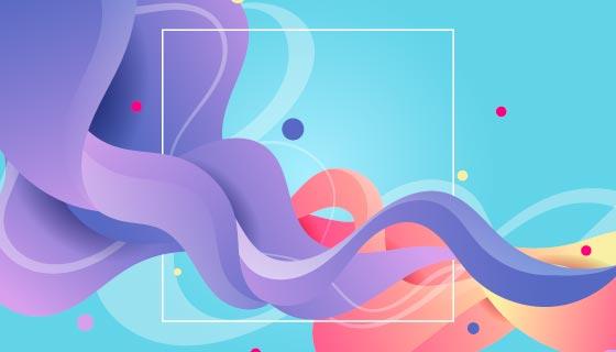 创意多彩背景矢量素材(AI/EPS)