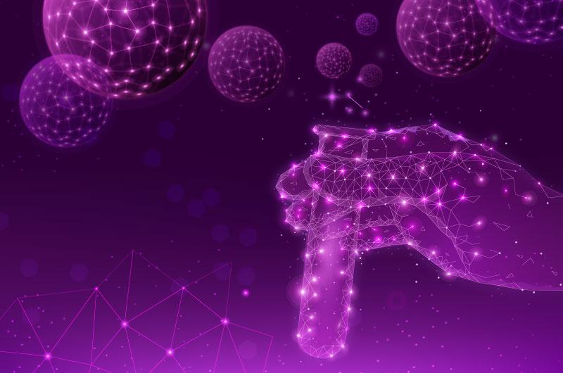 未来科学实验室概念背景矢量素材(AI/EPS)