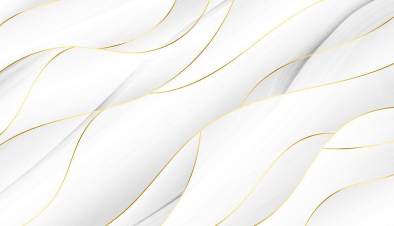 白金色波浪背景矢量素材(EPS)