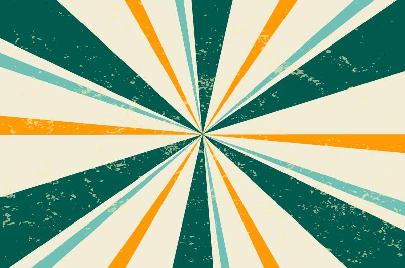 复古的阳光照射背景矢量素材(EPS)