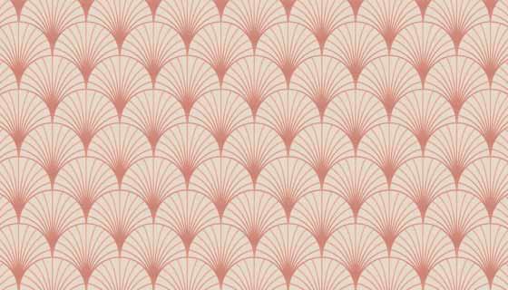 柔和的玫瑰金装饰图案矢量素材(AI/EPS)