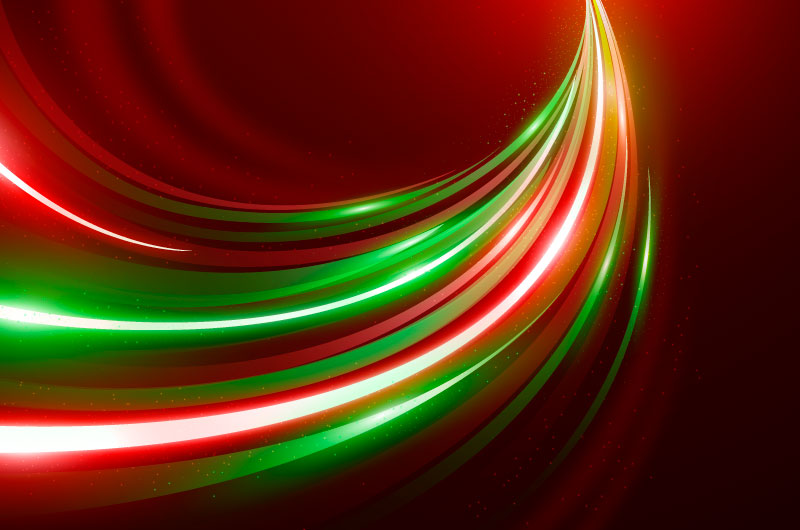 绚丽的光线背景矢量素材(AI/EPS)