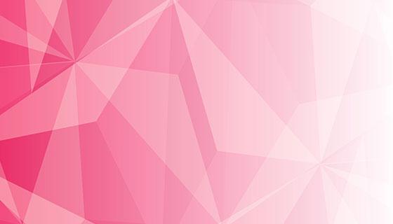 粉色低多边形背景矢量素材(EPS)