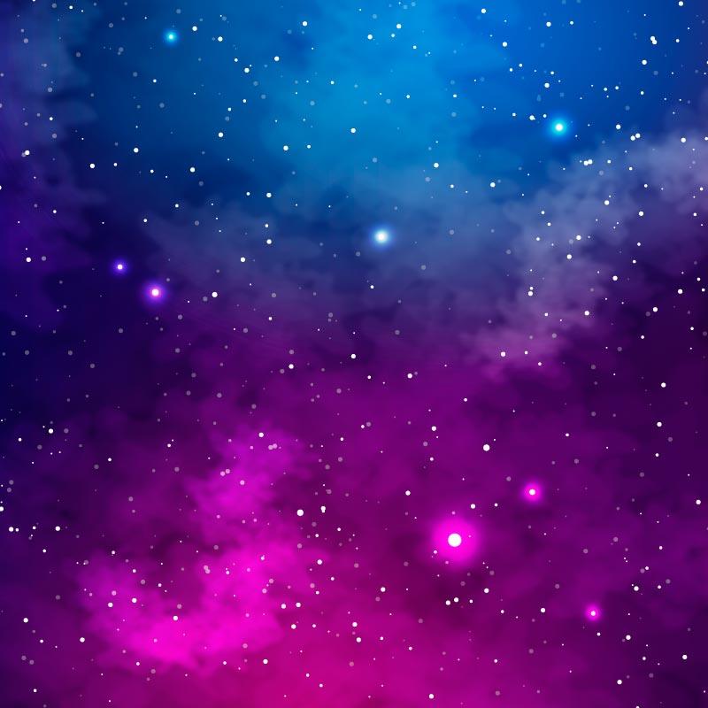 逼真的银河系矢量素材(AI/EPS)