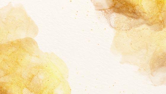 浅黄色水彩背景矢量素材(AI/EPS)
