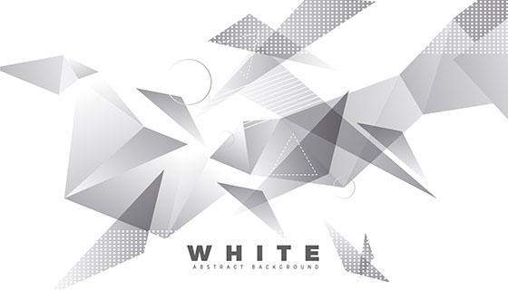 白色抽象背景矢量素材(EPS/AI)