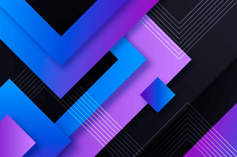 抽象几何层叠背景矢量素材(AI/EPS)